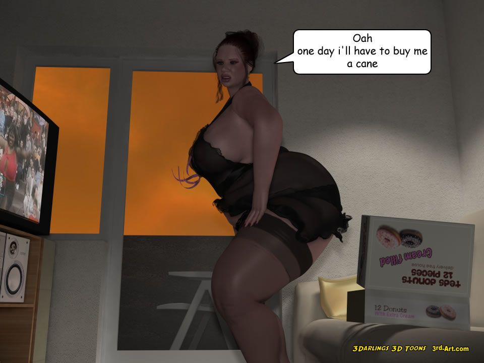 3Darlings Model Nadia eat Donuts - part 6