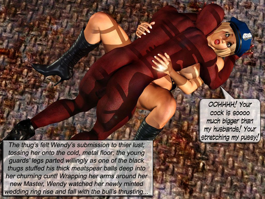 Hard Time with Officer Whitebread Interracial 3d Comic