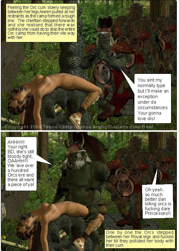 Taboo- Arwen\'s Misadventures (Arwen\'s Secret and Arwen\'s Dread) - part 6