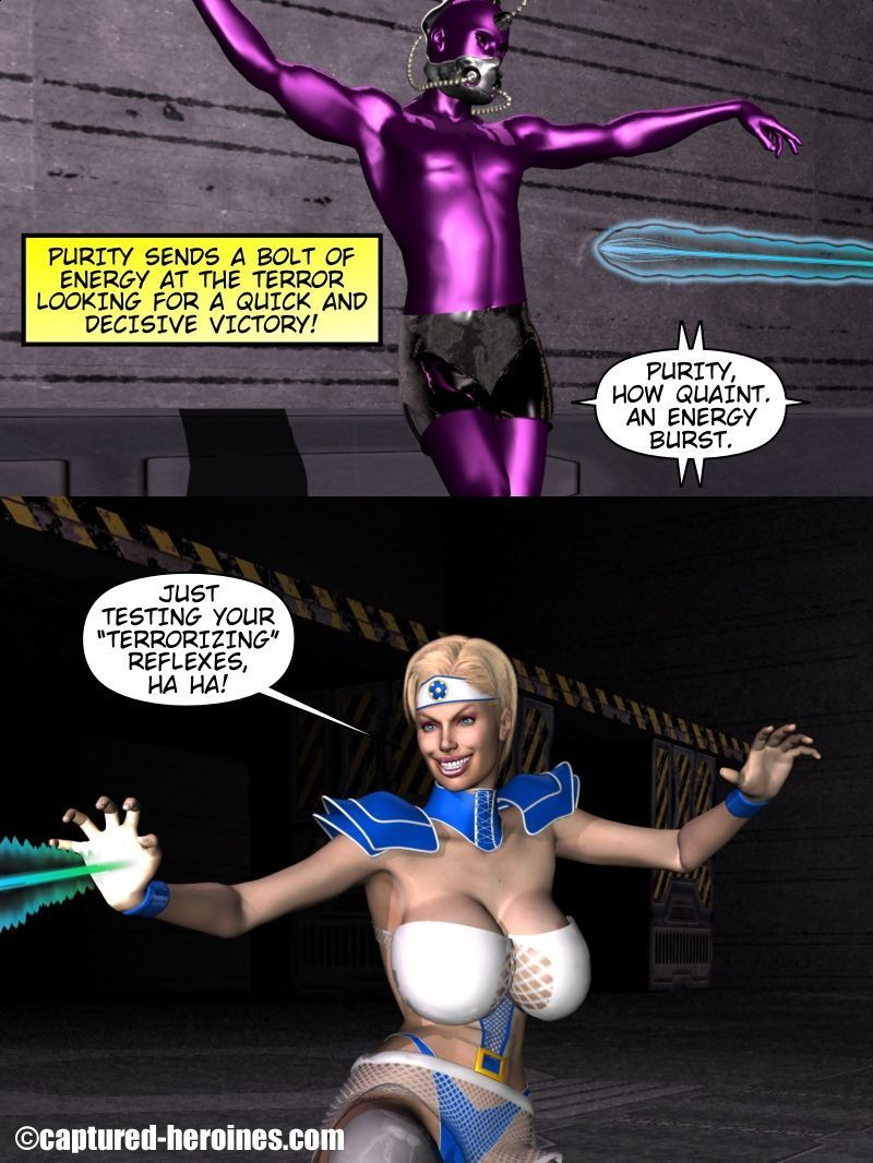 Purity: The Virgin Superheroine