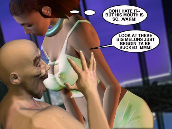 Mindy - Sex Slave On Mars c326-350 - part 13