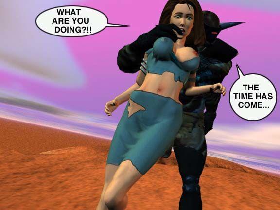 Mindy - Sex Slave On Mars c001-025 - part 6