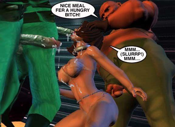 Mindy - Sex Slave On Mars c001-025 - part 14