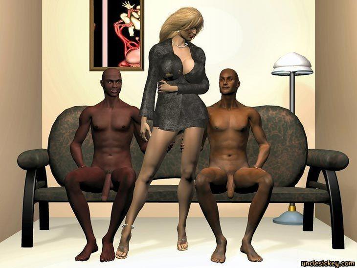 Black Cock Sex Slave Uncley Sickey 3d Comic +Bonus Comics - part 2