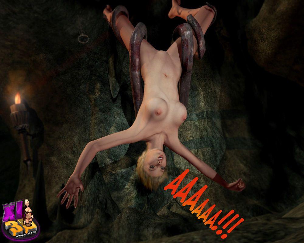3d Tentacles and Alien Rape