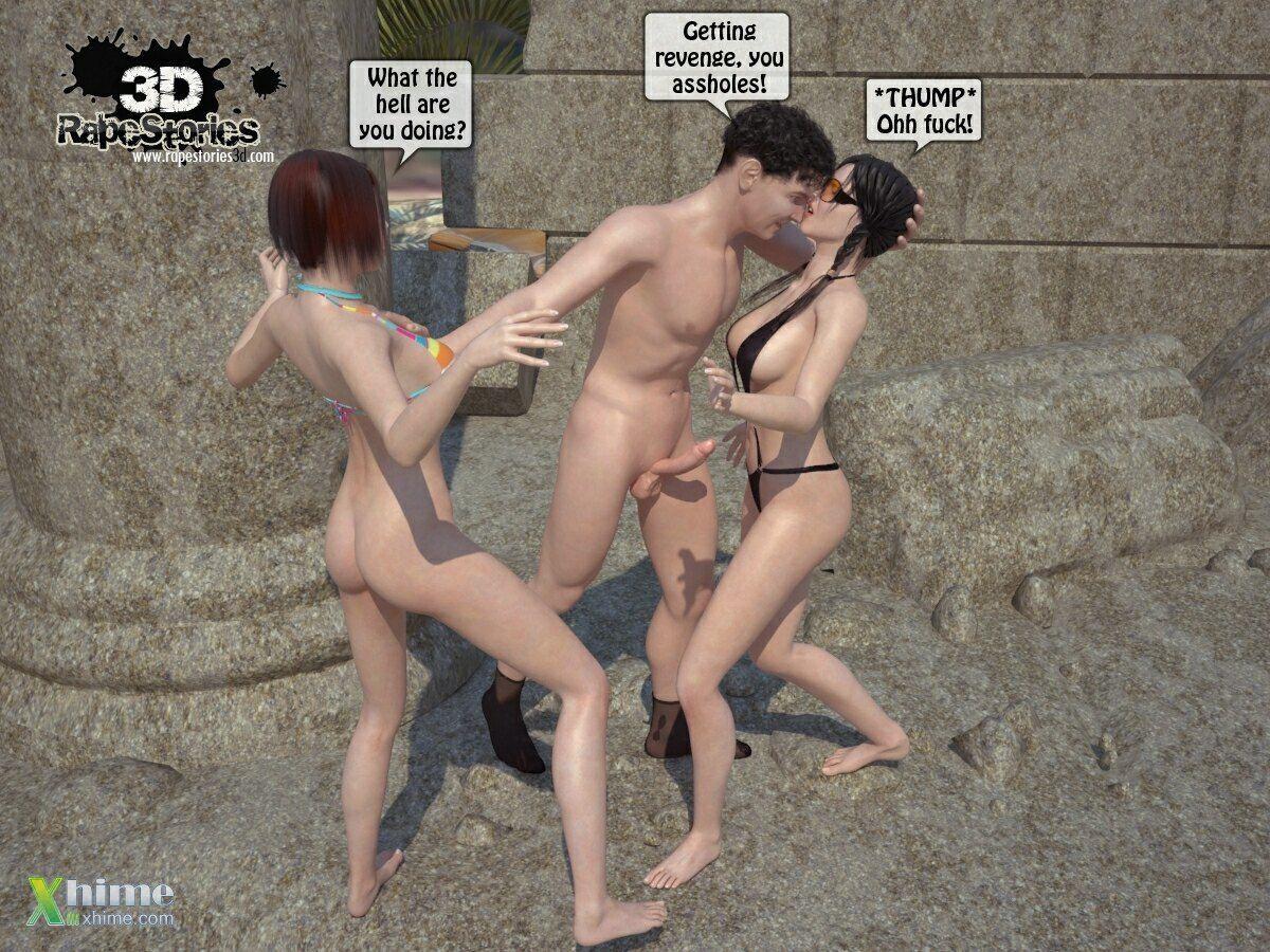 Man rapes girls at beach