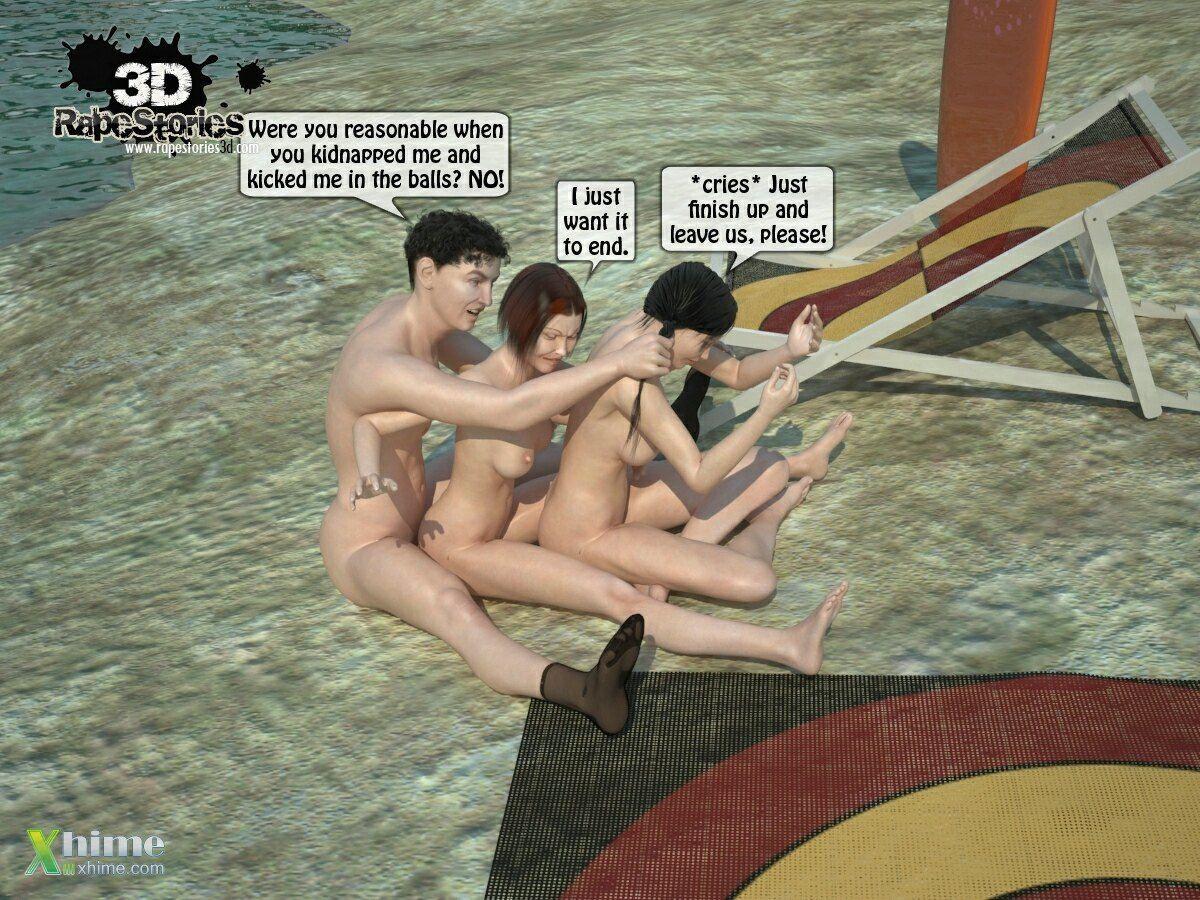 Man rapes girls at beach - part 3