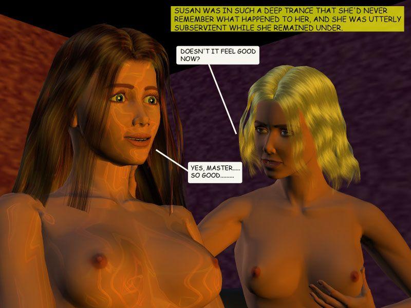 [3D] Hypnotic Roomates - part 3