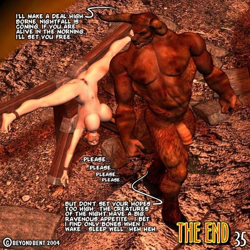 Food For the Gods : Series 2 Complete 3d Red Demon Comic - part 2