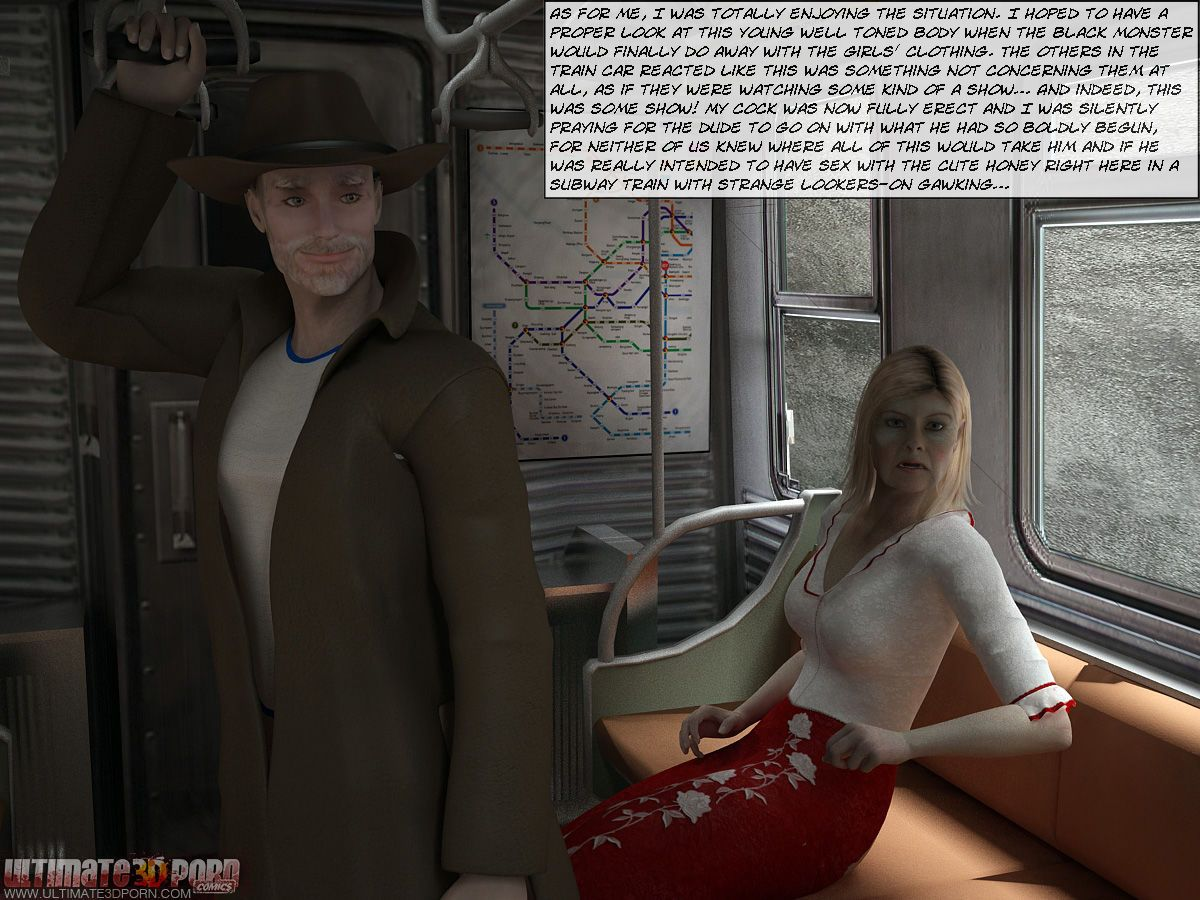 [3D] Sex in Subway