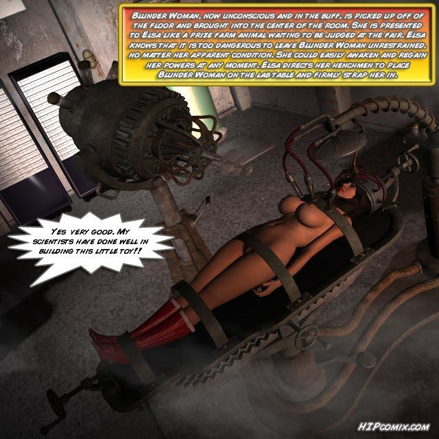 Blunder Woman Vs. Mother Superior [English] - part 2