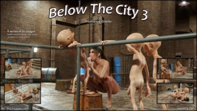Below The City 3- Blackadder