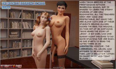 Hotkiss boarding school 2- Librarian Ultimate3DPorn