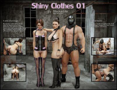 Blackadder- Shiny Clothes
