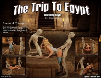 The Trip to Egypt- Blackadder
