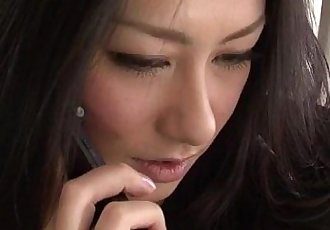 Strong fuck for brunette Japanese hottie Kyoka Ishiguro - 36 min