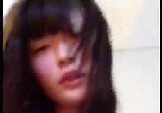cute korean girl sex with boyfriend - 48 sec