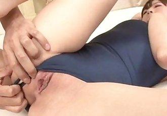 Perfect stimulation for young hottie Shizuku - 12 min
