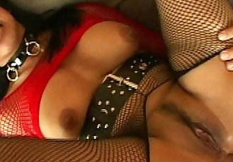 Big titted young tiny asian in lingerie shaved pussy fucked deep hard cumshotHD