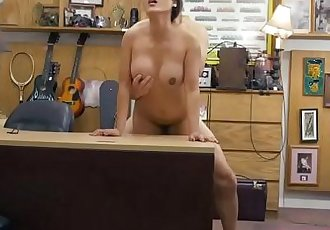 Lustful asian Tiffany Rain sells her weapon and gets hammered hard