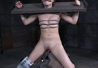 Stocked asian submissive handles sexmachine - 6 min