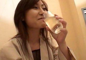 Hikaru Yuzuki Fishnets And Vibrators - 8 min