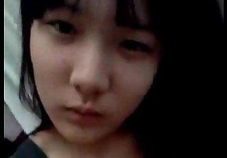 korean girl selfshot fingering pink wet pussy - 2 min