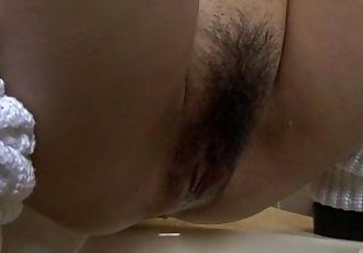 Ryo Asaka starts touching her vag in the shower - 12 min