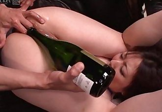 41Ticket - Busty Kaoru Hirayama Ass & Mouth Rekt in 3some - 5 min HD+