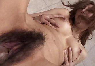 Asian brunette slut gets fucked doggy style - 8 min HD
