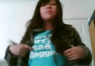 Chubby asian girl part 1 of 4 - 6 min