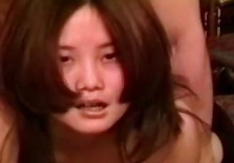 Asian vintage amateur assfucked by oldman