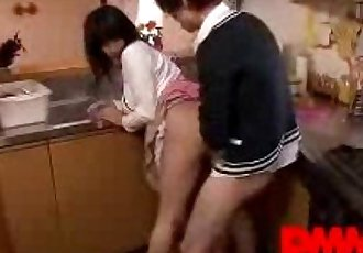 Haruna Hana - Has a dick down her throat! - 6 min