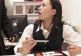 Japanese office Blowjob - 7 min HD