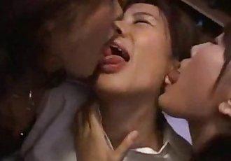 Japanese Lesbians Kiss 15 - 6 min