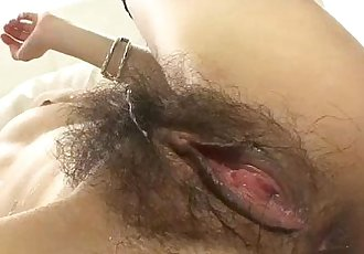 Japanese doll Sara has her furry muff pounded by a hard dick - 5 min
