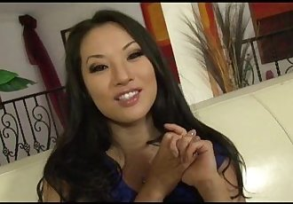 Asa Akira sucks and fucks after tells her Dirty Secrets - 11 min