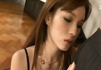 Mei Haruka Tokyo babe shows off astonishing blowjob skills - 10 min