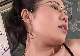 Japanese Teacher Gets Fucked - 7 min HD