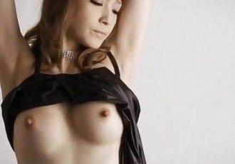 Amazing solo posing along lingerie beauty Yuria  - 12 min