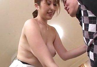 Nothing like a big dick to please cock sucking  Araki Hitomi - 12 min
