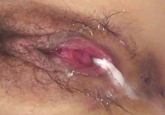 Aiuchi Shiori craves for two cocks in her tight fanny - 12 min