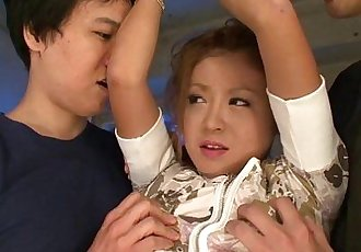 Bad little Asian girl gets punished - 7 min HD