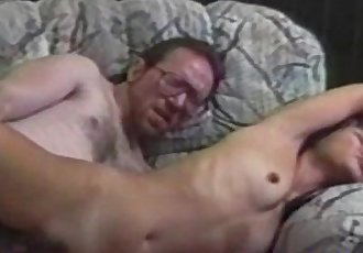 Asian amateur pussyfucks oldman