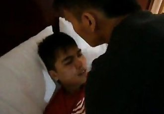Gay Indonesia Aris and His Bro