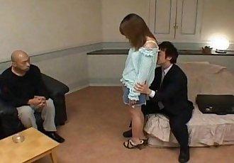 Ayu Mayumi is pumped in pussy - 10 min