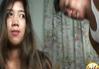 Pretty slim tiny titted asian teen convinced to great sex action - 11 min HD