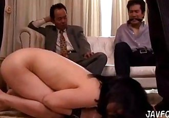Forced by her husbands boss. Full video http://zo.ee/DSm - 5 min