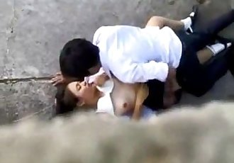 Indo hot girl Teen couple sex at the bay recorded - 6 min
