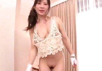 Yuwa Tokona hot milf fucked in gangbang series - 12 min